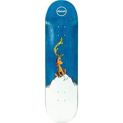 "Almost Skateboards Rodney Mullen Grinch Skateboard Deck Resin-7-8.12"" x 31.7"" : Sports & Outdoors"