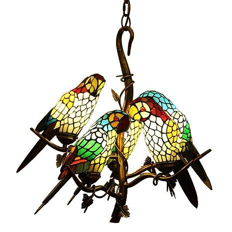 Amazon.com: makernier clásico Estilo Tiffany vidrieras ramas ...