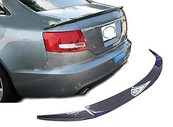 De fibra de carbono trasero alerón ABT para Audi A6 C6 2005 - 2010: Amazon.es: Coche y moto