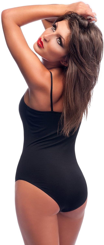 Colori e Taglie vestibilit/à ottimale Krisli Body da Donna con Spalline e Spalline Maglia da Yoga Gancio di Chiusura Body da Donna Maglia da Balletto Body da Intimo Maglia Sportiva Tanktop