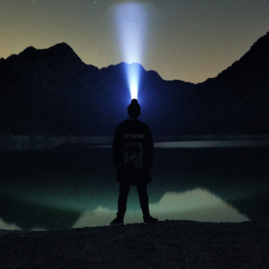 color : Blue light Linterna De Cabeza,Multifunci/ón Long Shot Monta/ñismo Noche Pesca Super Brillante Xen/ón Cabeza Luz