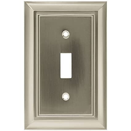 Brainerd 64209 Architectural Single Toggle Switch Wall Plate