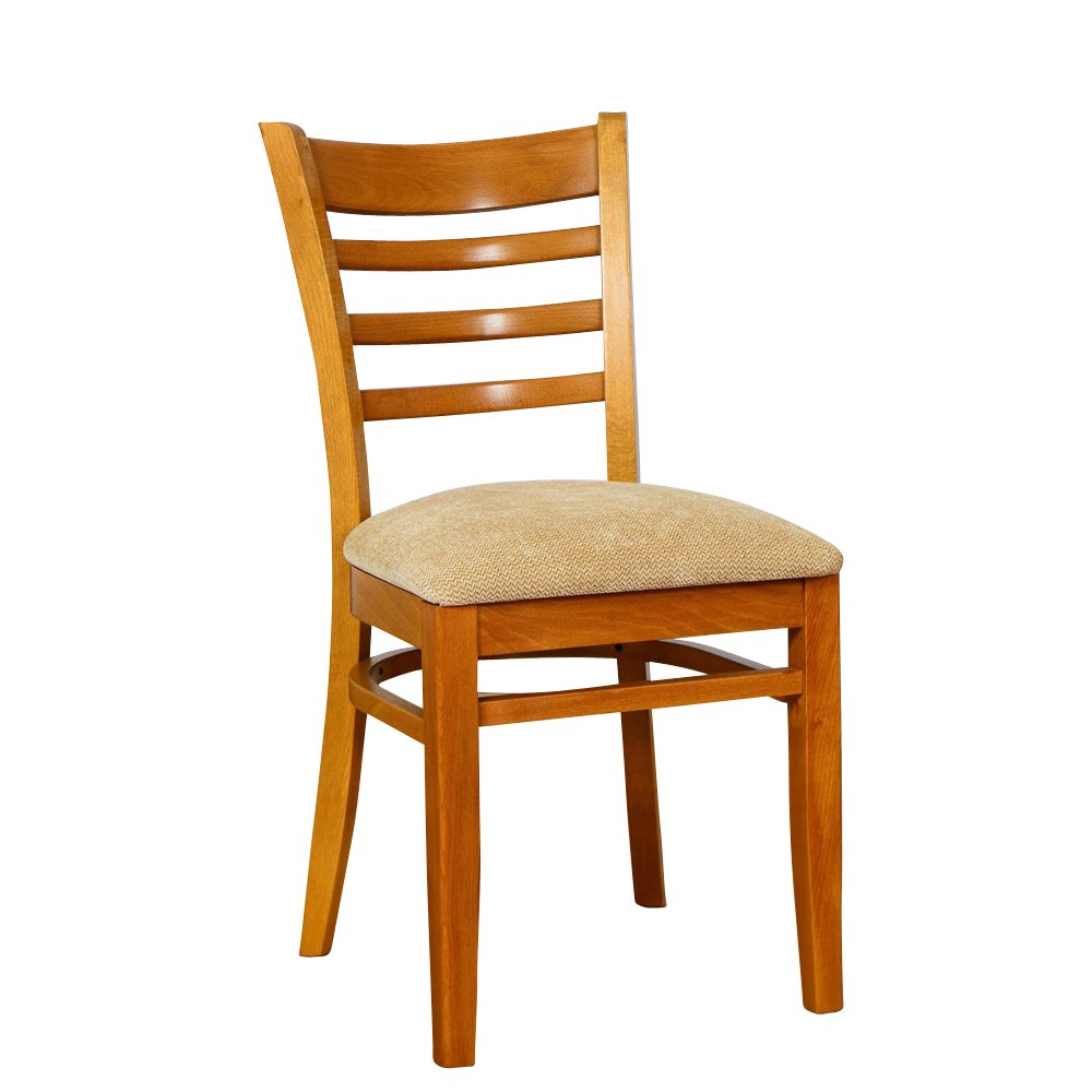 Beechwood Mountain BSD-5S-C Solid Beech Wood Side Chairs in Cherry for Kitchen and dining, set of 2