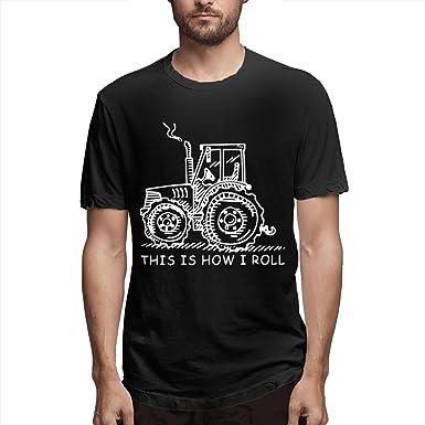 Camiseta de Manga Corta de los últimos Muchachos Así es como ruedo Granjero o Agricultor agrícola Tractor Ropa de Verano Tops para Hombres S: Amazon.es: Ropa y accesorios