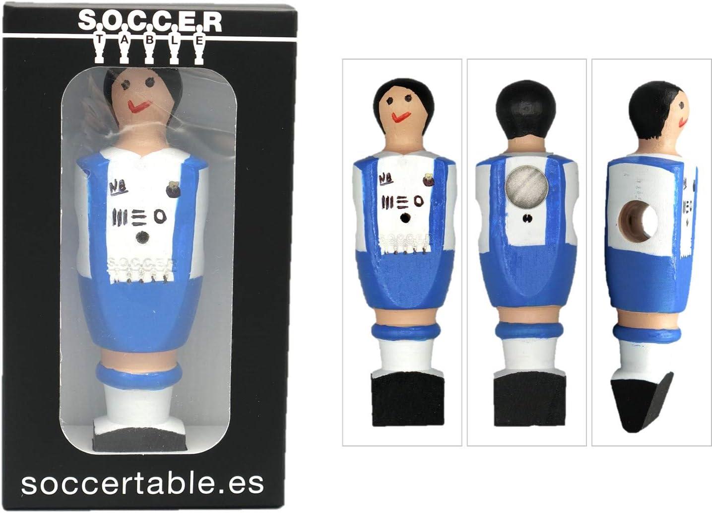 Soccer Table SL Individual Jugador de Futbolín Oporto con imán ...