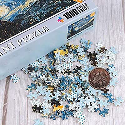 N/X 1000 Piece Puzzles for Adults - Landscape Painting Jigsaw Puzzles Serie s- Decompression Children Early Education Toy (G): Toys & Games