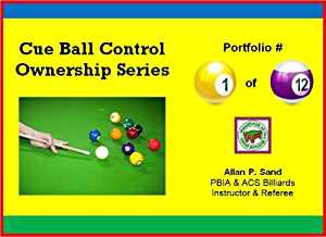 Cue Ball Control Ownership Series; Portfolio #1 of 12