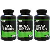 【3個セット】BCAA(分岐鎖アミノ酸) 1000 200粒 [海外直送品]