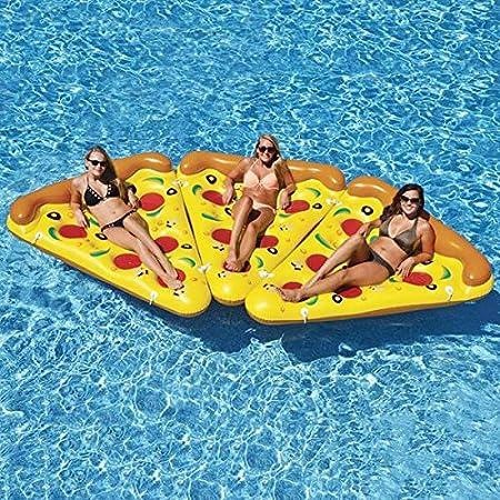 Eurowebb Colchón Flotador Hinchable Pizza - Flotador Part de ...