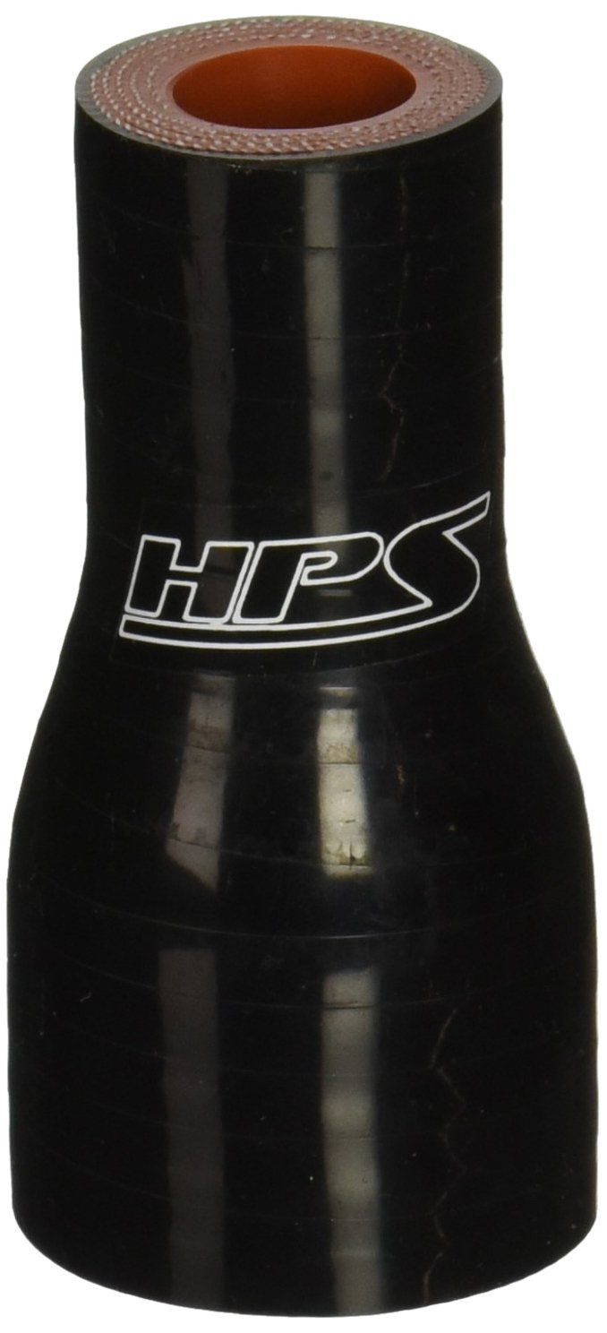 3 Length 5//8  1-1//8 ID Black 3 Length 5//8  1-1//8 ID HPS Silicone Hoses HPS HTSR-062-112-BLK Silicone High Temperature 4-ply Reinforced Reducer Coupler Hose 100 PSI Maximum Pressure