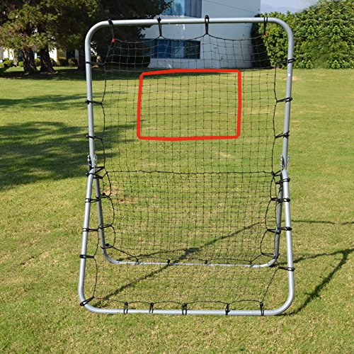 Strong Camel Multi-Sport Rebounder Pitch Back Training Screen 48'' x 68'' by Strong Camel