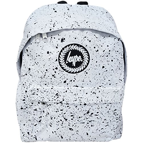 Black with Black White Backpack Hype Bag 'Splatter' White with Just 8YOqn