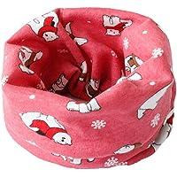 Vi.yo Braga pañuelo de algodón multiusos para niños, puede usarse para el cuello como bufanda o para la cabeza como…