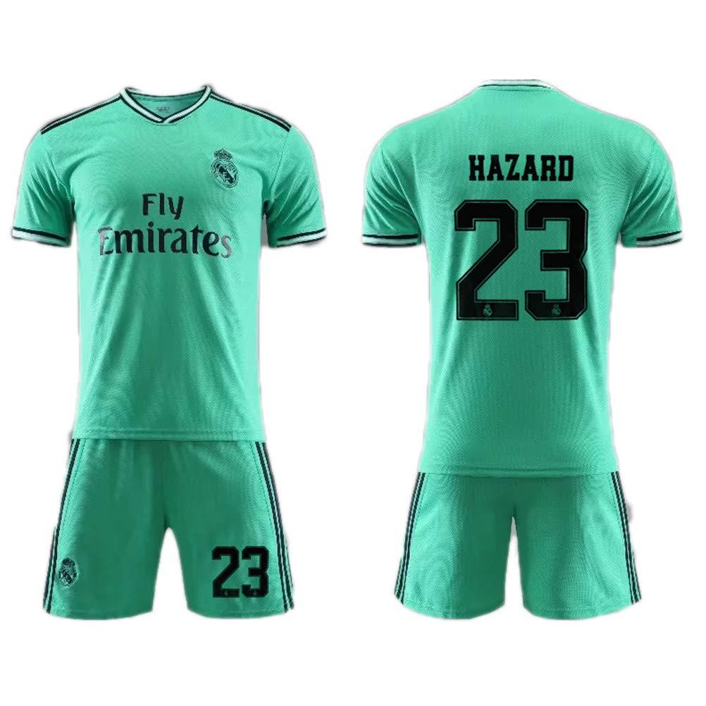 2019-2020 Real Madrid Eden Hazard # 23 Camiseta de fútbol y ...