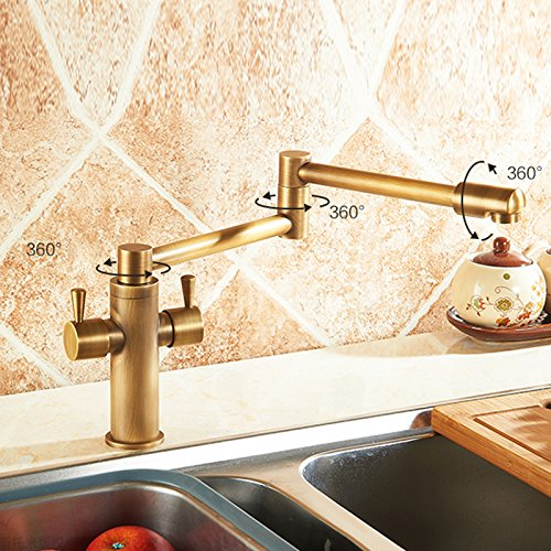 Pot Filler Antique Brass Faucets Price Compare