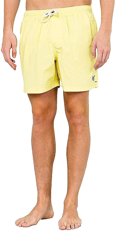 LOTMART Hombre Springfield Secado Rápido Swim Shorts Verano Tabla de Surf Playa Pantalones