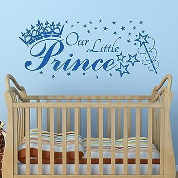 Notre Petit Prince Art Sticker Mural Citation Avec étoiles