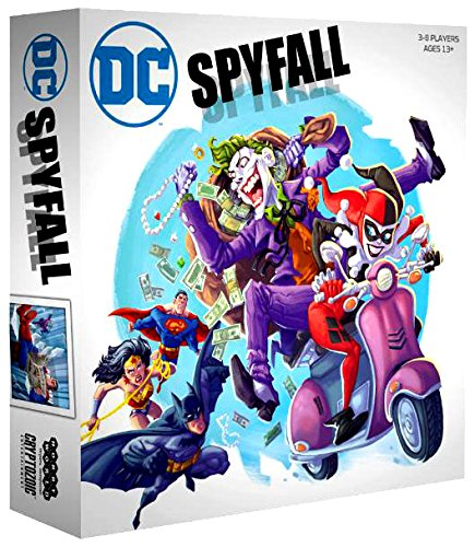 DC Spyfall Board Game