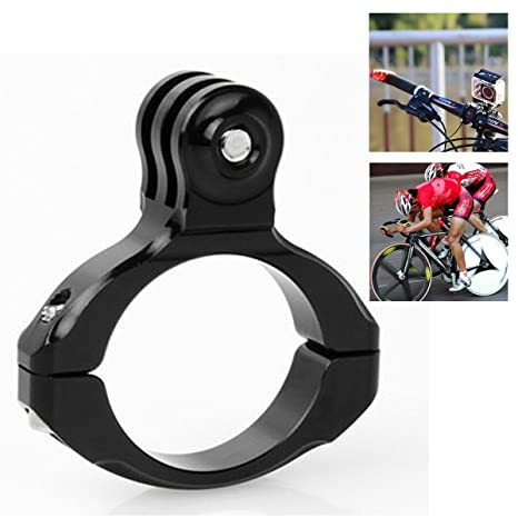 Flycoo Vélo Moto Guidon Aluminium Adaptateur Fixation Support pour GoPro 2  3 HD Caméra d  014a92f6aed7
