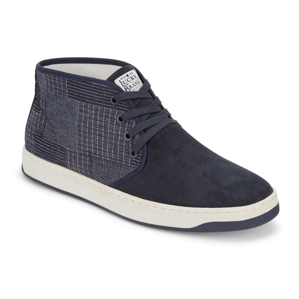 Lucky Brand Mens Payne Leather Hightop Sneaker Shoe