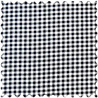 product image for SheetWorld Navy Gingham Check Fabric - By The Yard