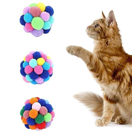 WESEEDOO Juguete para Mascotas Gato Juguete para Gatos Colorido ...
