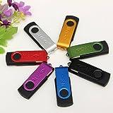 MECO Clé USB 3.0 32Go Mémoire Flash Drive Pliable Cadeau pour PC Argenté