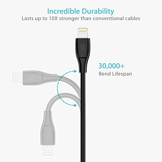 Best for Durability: Syncwire Lightning Cable UNBREAKcable Series