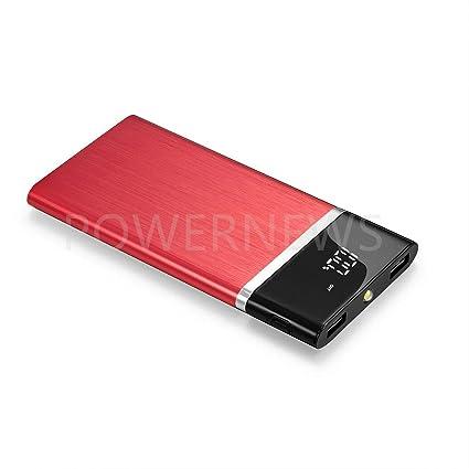 Amazon.com: Batería externa portátil de 900000mAh con ...