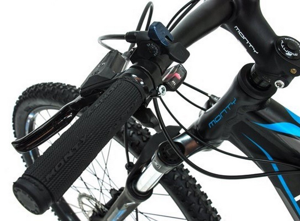 Monty KY29 - Bicicleta montaña Unisex de 24 velocidades, Cuadro de ...