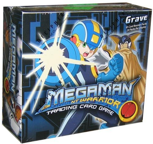 (Mega Man NT Warrior Trading Card Game Grave Booster Box 24 Packs)