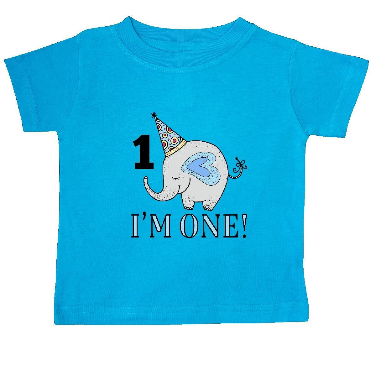 inktastic First Birthday 1 Year Old Boy Baby T-Shirt
