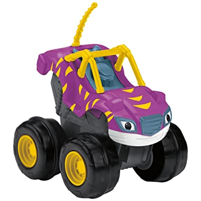 Fisher-Price Nickelodeon Blaze & The Monster Machines, Slam 'n Go Stripes: Toys & Games
