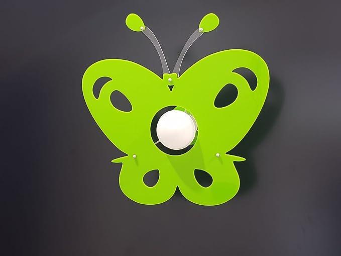 Plafoniera Cameretta Bambini : Lampadario moderno in plexiglass farfalla plafoniera vari colori