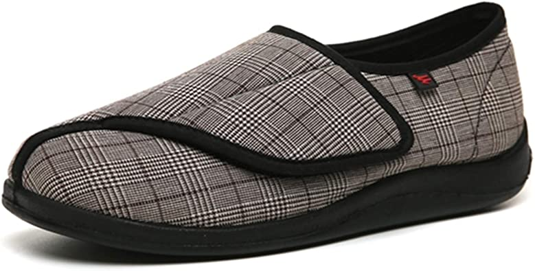 Men's Extra Wide Non-Slip Slippers