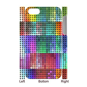 SYYCH Phone case Of Colorful Circle Dot 2 Cover Case For Iphone 4/4s
