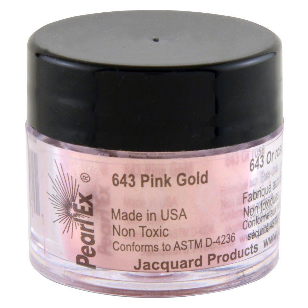 Pigmento Jacquard Pearl Ex 3gr. Oro rosado