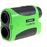 COLEMETER Télémètre Laser Golf Chasse Téléscope Monoculaire Golfscope Laser Scope 6X 5-900M Mètres pour Golf Chasse Randonnée
