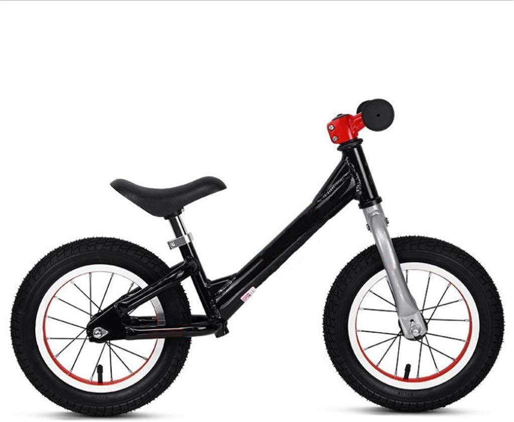 Andador de Bicicletas para Niños Bicicletas de equilibrio Niños Sin pedal Edad 2-6 Competencia Para caminar Aprendiendo bicicleta para chicos Chicas Neumáticos inflables Fácil de Retraer ( Color : C )