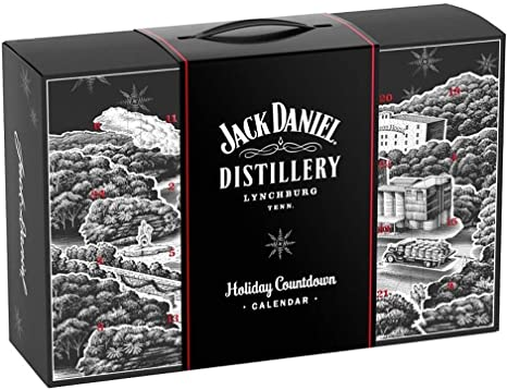 Jack Daniel's   Advent Calendar With Jack Daniel's Gifts And