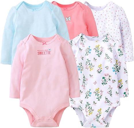 Bebé Unisex Body - Bebé Mameluco Pijamas Peleles Algodón Monos ...
