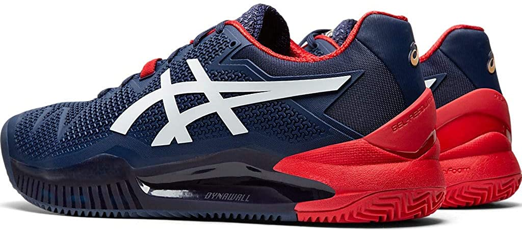 ASICS Mens Gel-Resolution 8 Clay Tennis Shoes