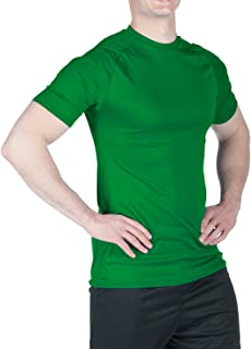 product image for WSI Microtech Short Sleeve Form fit Shirt, Kelly Green, Large
