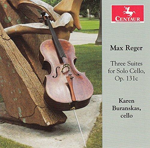 Cello Solo Instrument - Max Reger: 3 Suites for Solo Cello