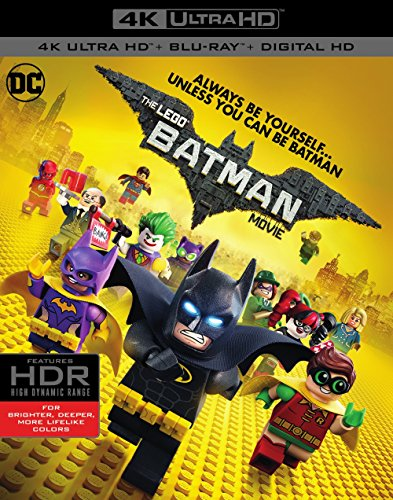 Lego Batman Movie, The (4K Ultra HD + Blu-ray)