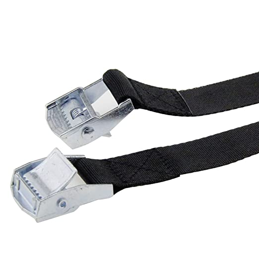 3.2x1 2x Lashing Straps with Buckle Good for Roof-top Tie Down Mounted Cargo