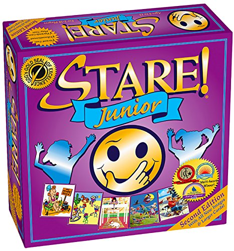 Stare! Junior Board Game - 2nd Edition (Questions To Ask A 8 Year Old)