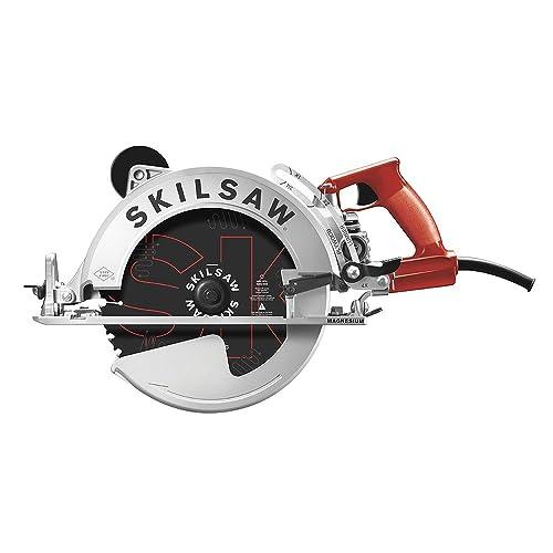 SKILSAW SPT70WM-01 15 Amp 10-1 4 Magnesium SAWSQUATCH Worm Drive Circular Saw