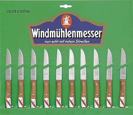 Molinos de viento de cuchillos cuchillo de verduras 10 pcs ...
