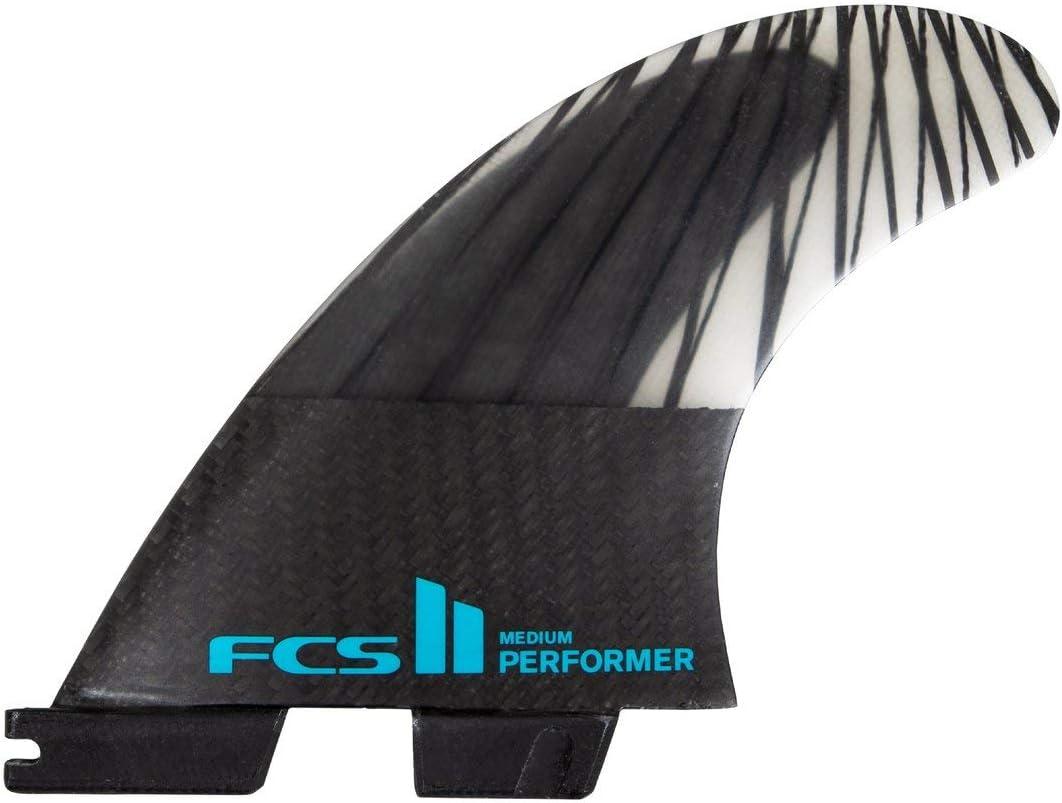 FCS II Performer PC Carbon Tri Fin Set